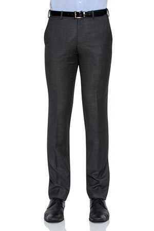 Cambridge Suit Pants In Self Weave Pattern Grey