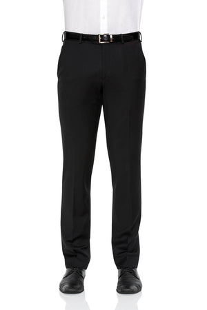 Cambridge Suit Pants In Subtle Black Weave