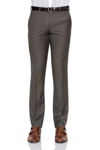 Cambridge Washable Wool Pants In Brown