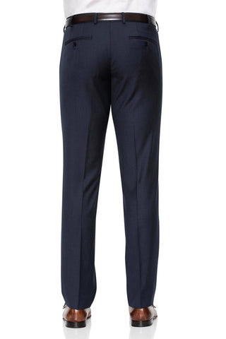 Image of Cambridge Washable Wool Pants In Light Navy
