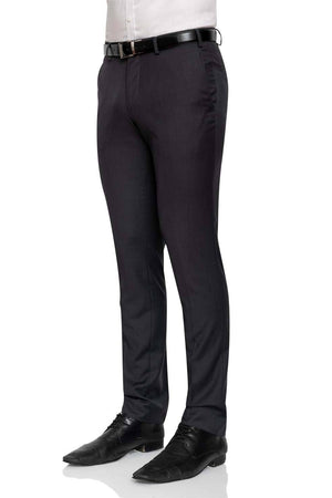Cambridge Washable Wool Pants in Plain Charcoal