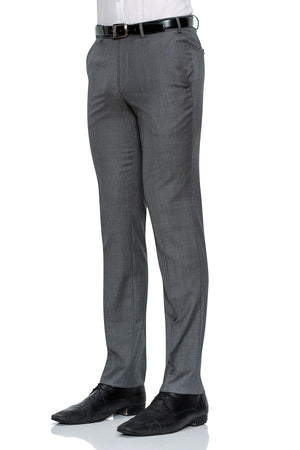 Cambridge Washable Wool Pants in Steel