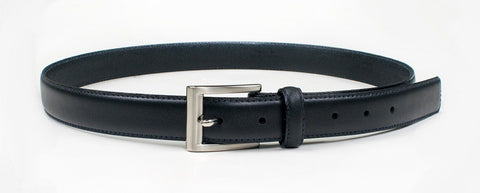 Joe Black Leather Mens Black Belt
