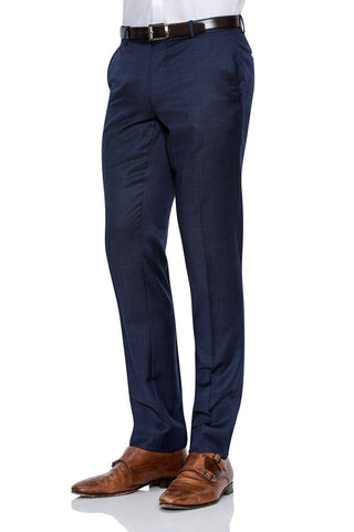 Joe Black Suit Pants Blue