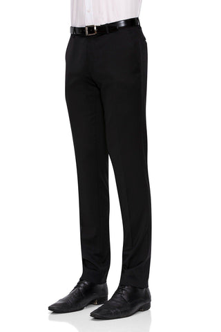 Joe Black Suit Pants In Black