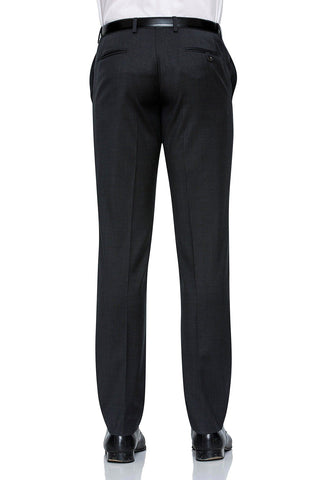 Joe Black Suit Pants In Charcoal