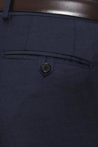 Joe Black Suit Pants In Dark Navy