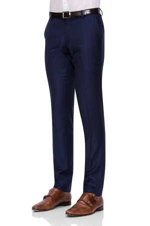 Joe Black Suit Pants in Light Navy