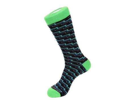 Men Designer Crew Socks: Ankle, Knee-High Socks