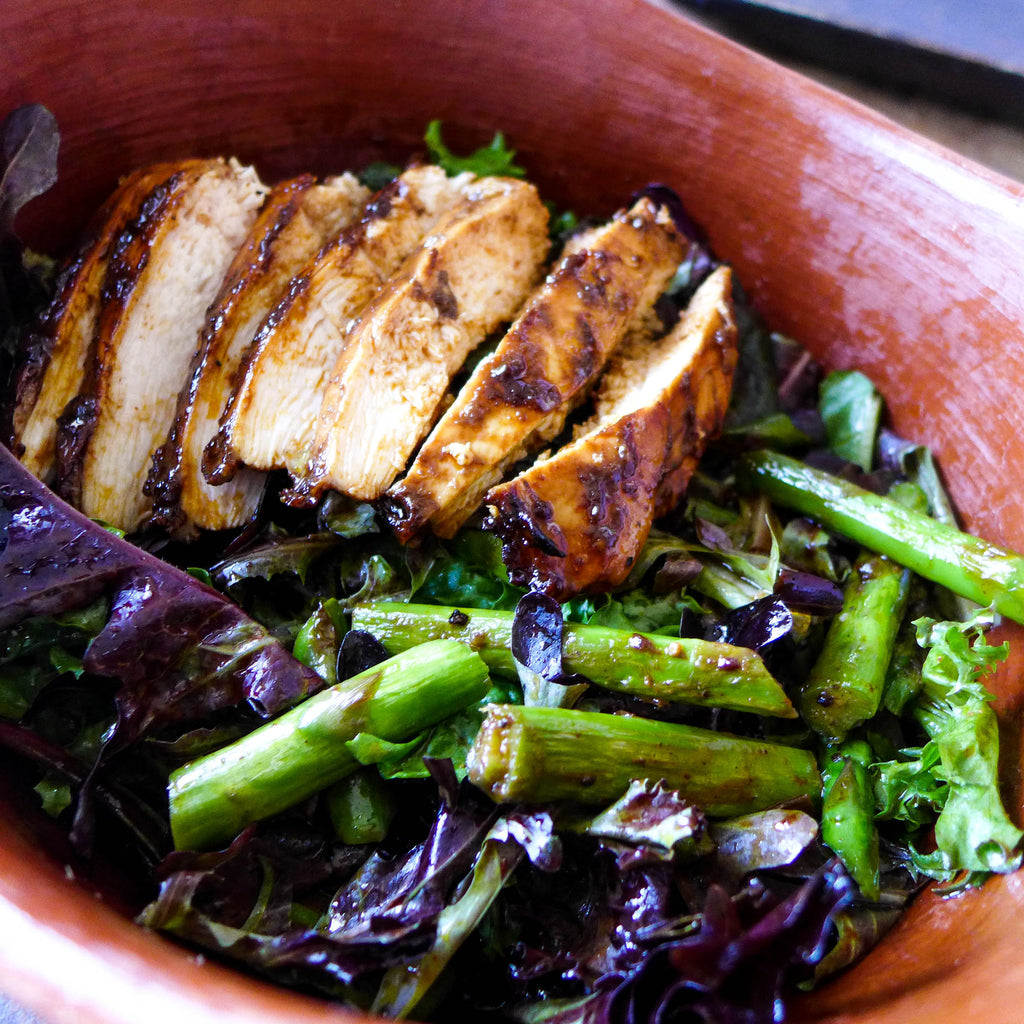 Grilled Mole Chicken Salad