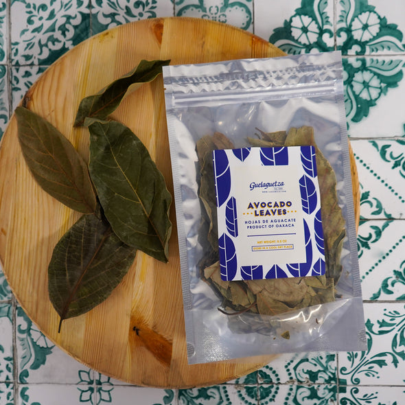 DRIED AVOCADO LEAVES (HOJA DE AGUACATE) - .5oz