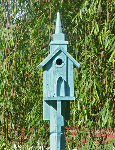 bird house custom blue bird 1