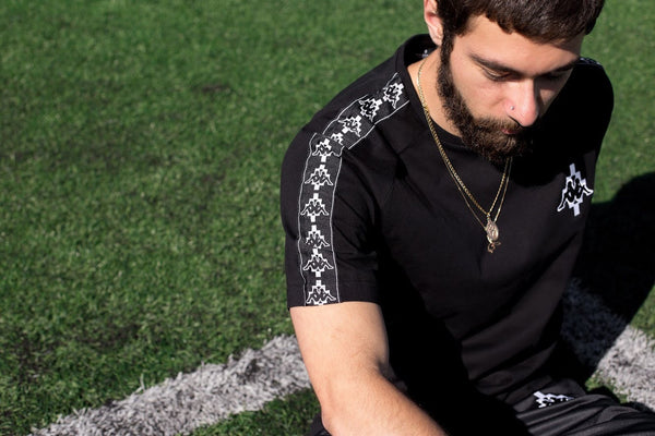 The highly anticipated collaboration between Marcelo Burlon and Kappa.