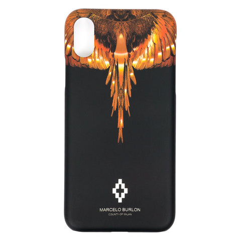 Gold Wings iPhone X Case