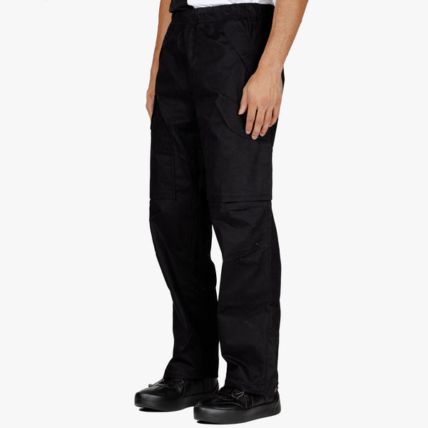 Cotton Twill Cargo Pants
