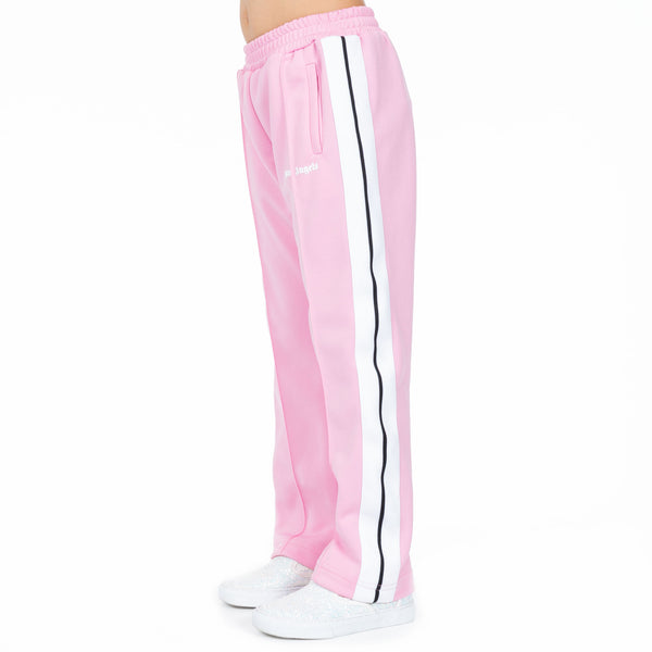 Kids Classic Baby Pink Track Pants