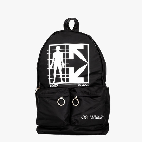 Half Arrow Man Backpack