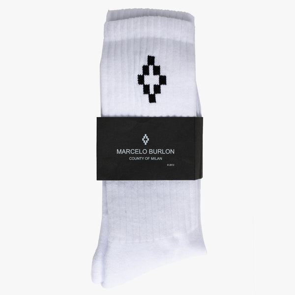 Cross Sideways Mid-High Socks