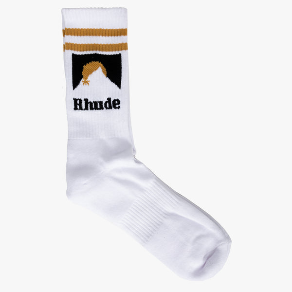 Mountain Logo Socks