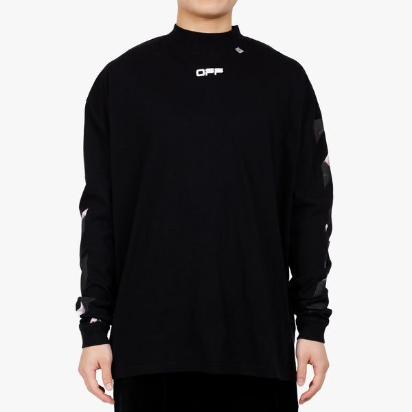 Carav Arrow Mockneck LS Tee