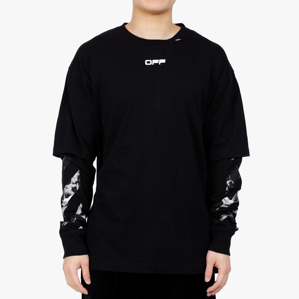 Carav Square Double Sleeve Tee