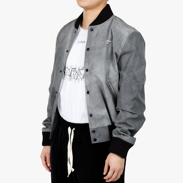 Airport Tape Varsity Jacket