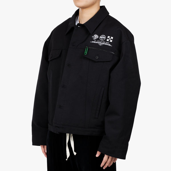 Universal Key Puffer Tech Jacket