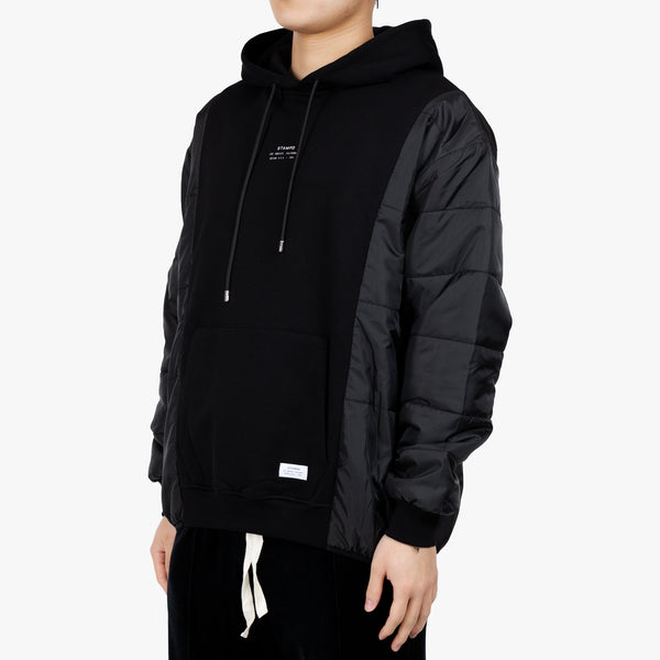 Stacked Puffer Hoody