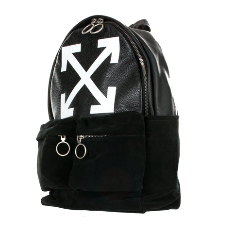 Leather Arrow Backpack