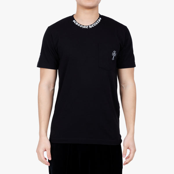 CH Collar Script Cross T-Shirt