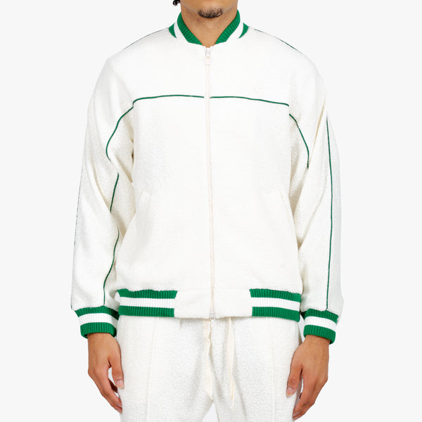 Cashmere Terry Track Jacket