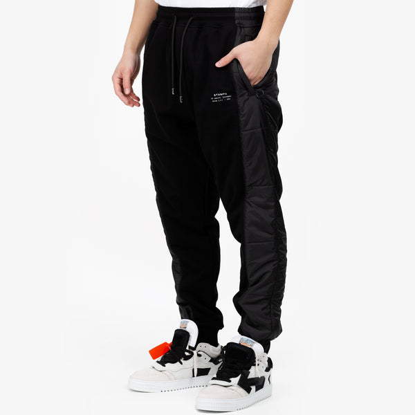 Stacked Puffer Sweatpants