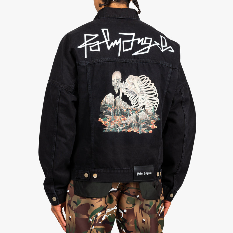 Dessert Skull Denim Jacket