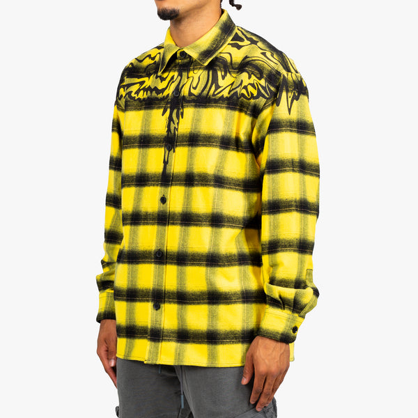 PSY Wings Check Flannel Shirt