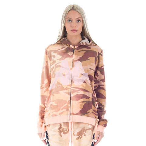 Kappa Camouflage Laced Zip Hoody