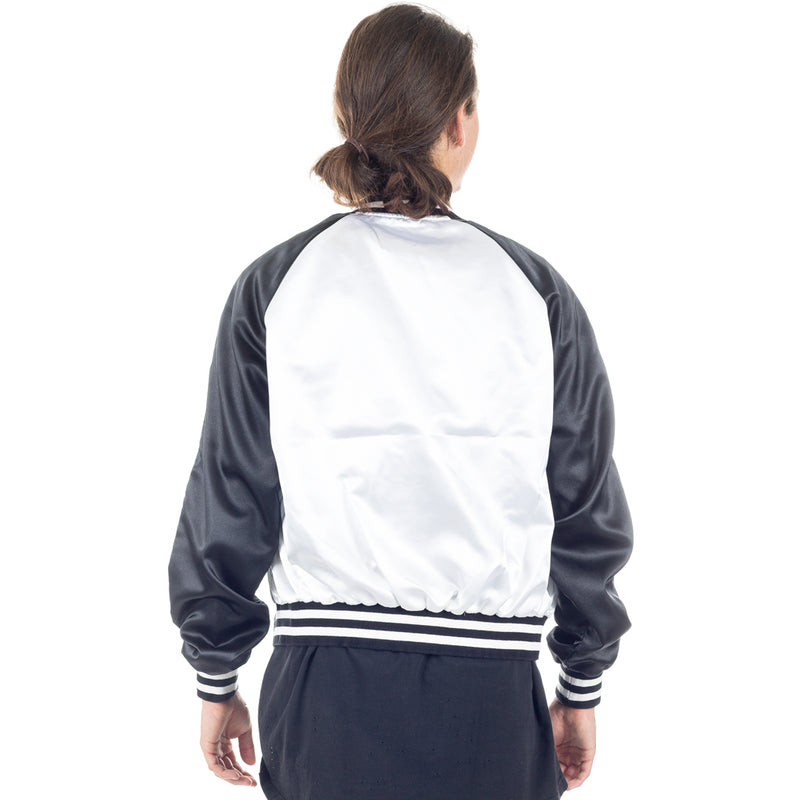 Wasp Satin Bomber Jacket