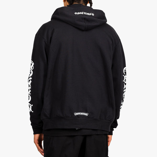 CH Script Sleeves Fleece Hoody