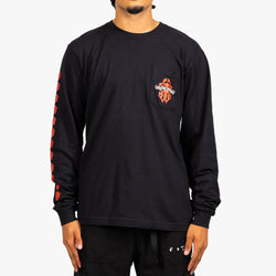 Red Dagger Long Sleeve Tee