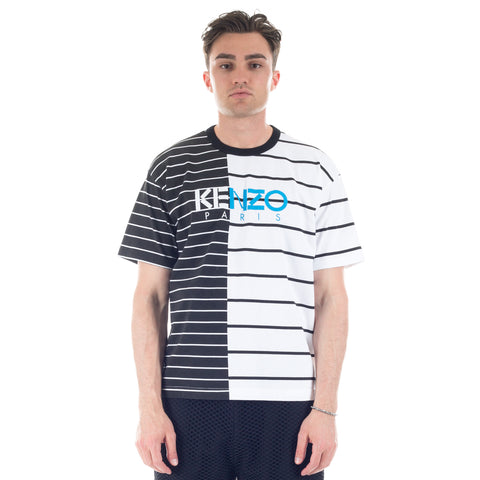 Contrasting Stripe T-Shirt