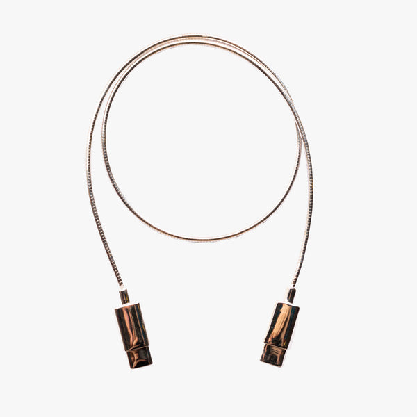 USB C 18K Platinum Necklace