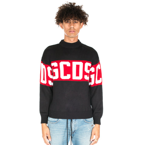 GCDS Logo Knit Sweater