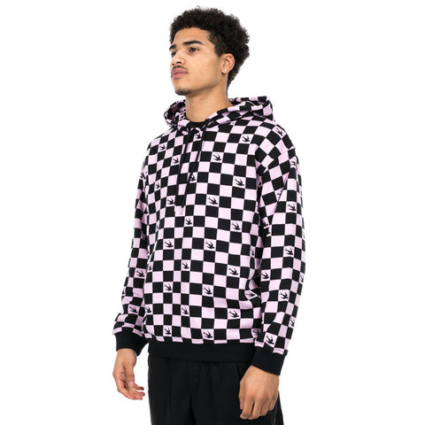 Checker Swallow Hoody