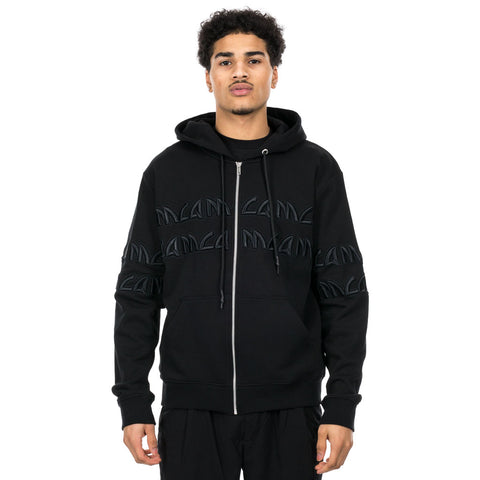 Metal McQ Zip Hoody