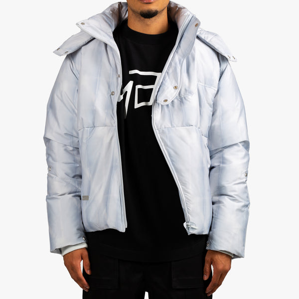 Arc Sculpture Puffer Jacket