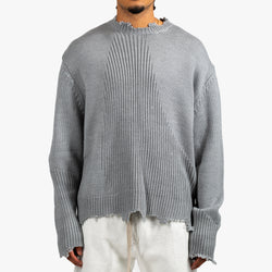 Arc Sculpture Knit Sweater