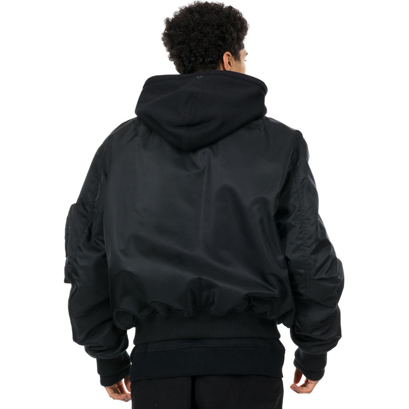 Ali C. Hooded Bomber