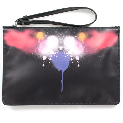 Abstract Spray Wings Pochette