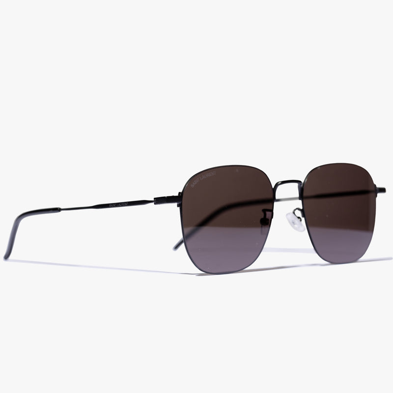 Ladies Black Wire Frame Sunglasses