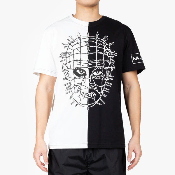 Masked Pins Split T-Shirt