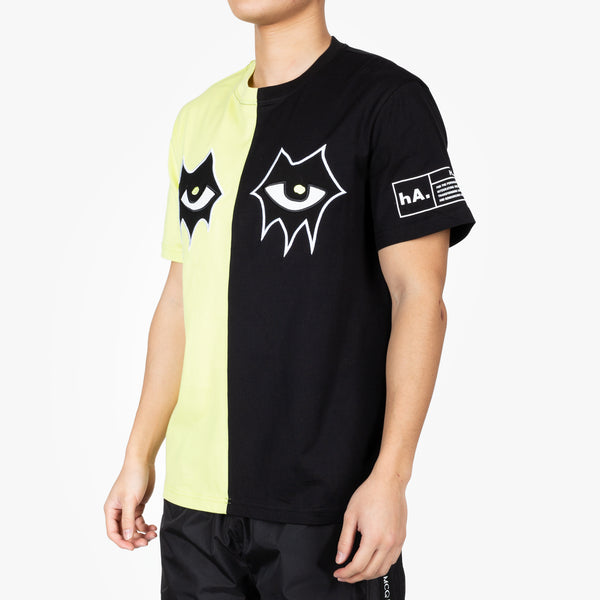 Signature Eyes Split T-Shirt